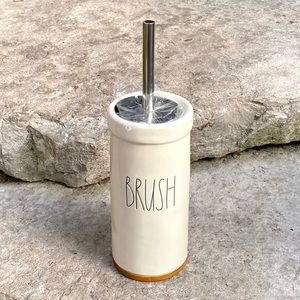 Rae Dunn BRUSH Toilet Brush Bathroom Accessory